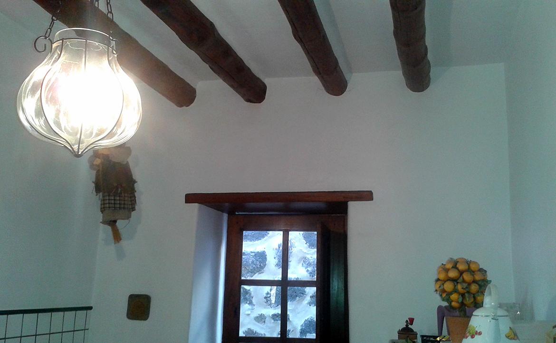 wooden beams