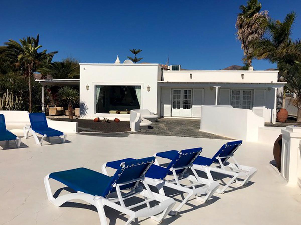 house and sun terrace