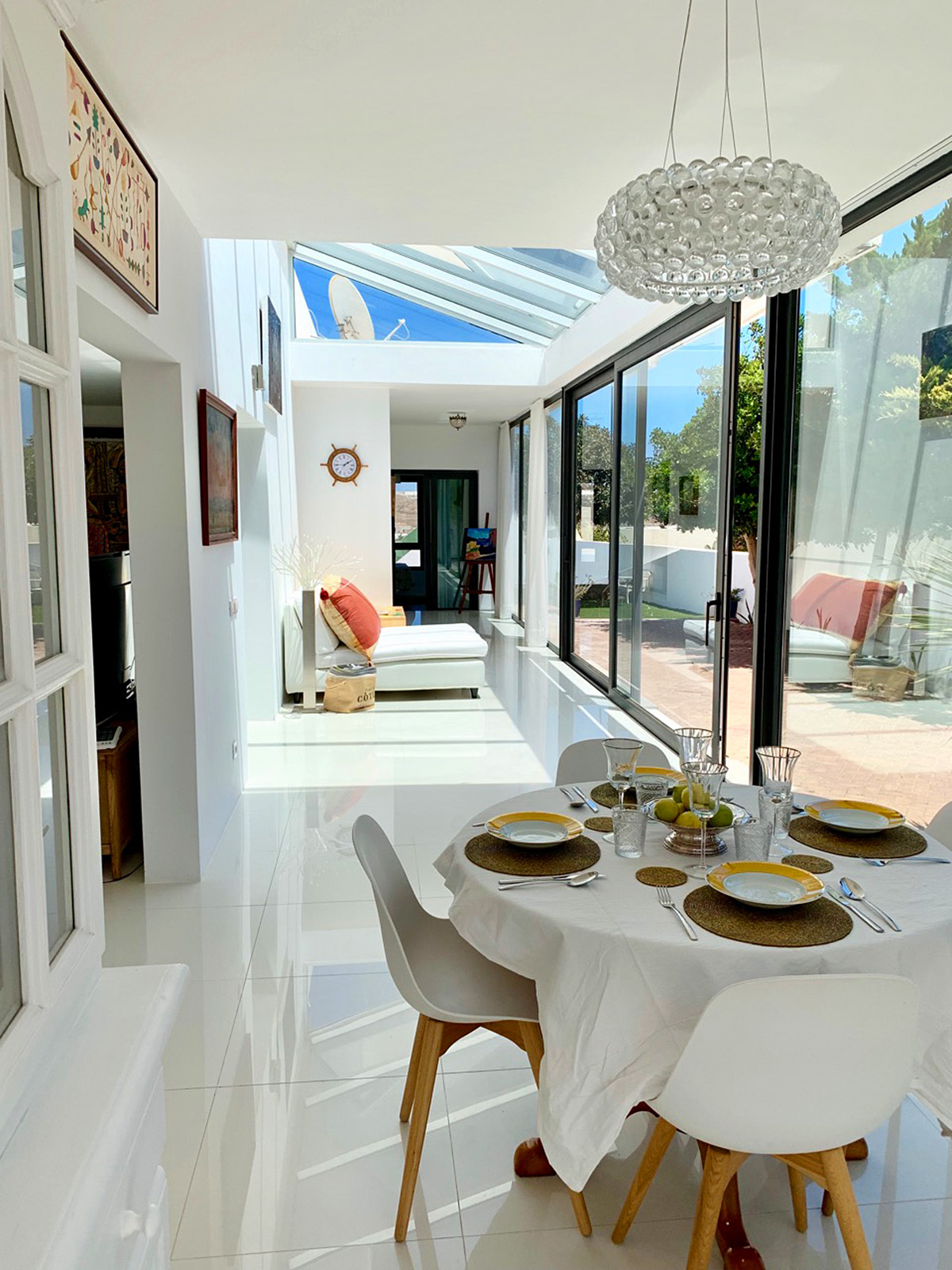 Villa with indoor swimming pool in Costa Teguise