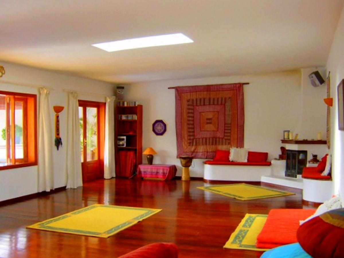 wooden floor lounge