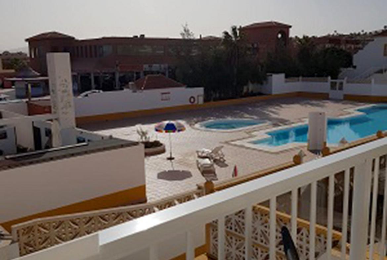 views to communal pool
