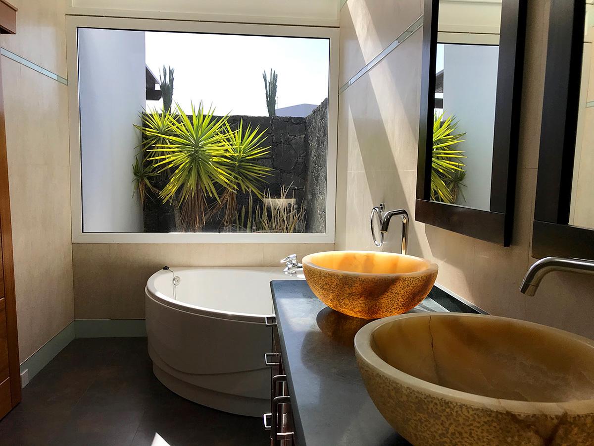 bathroom and views