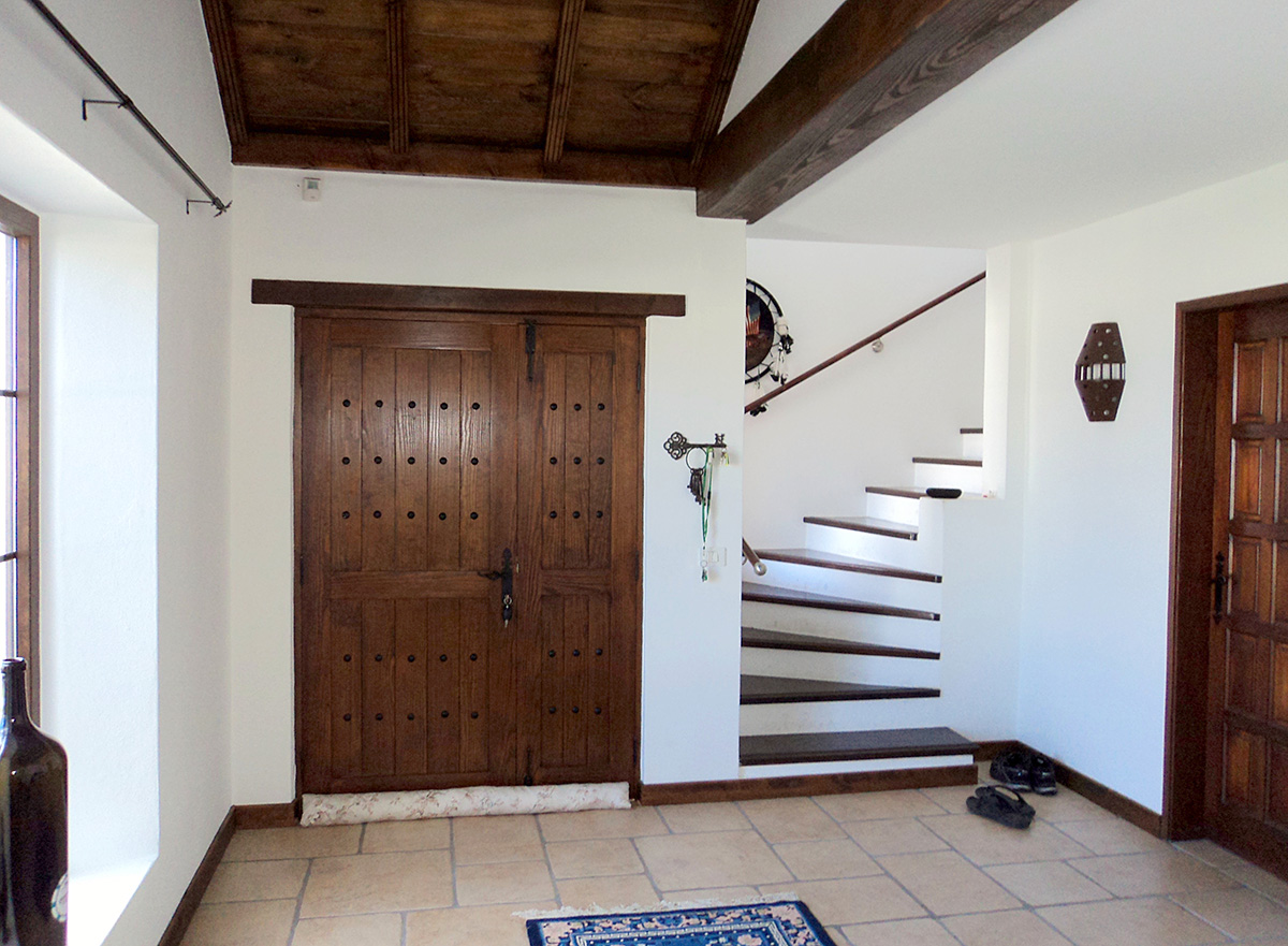 entry and stairs