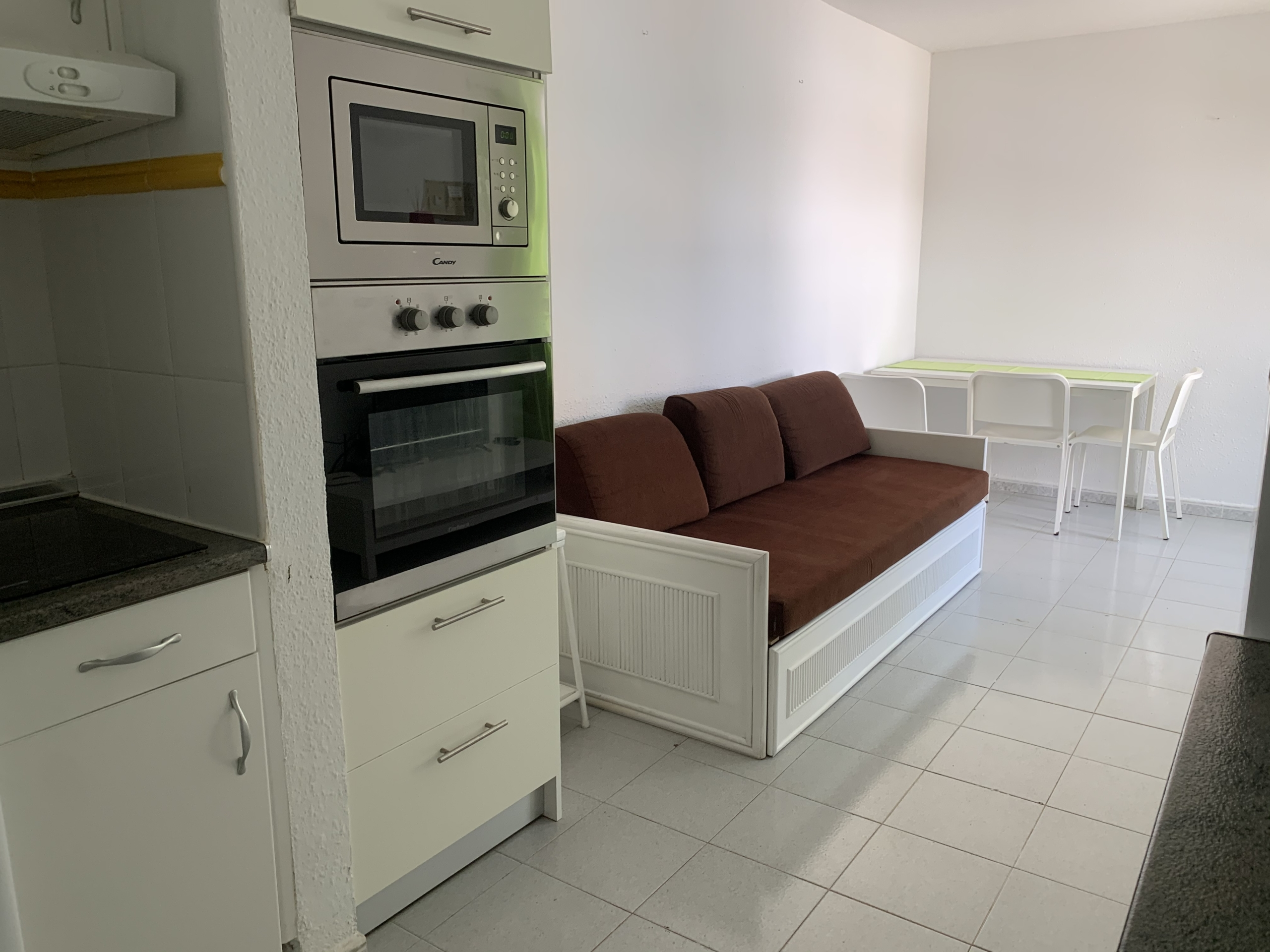 sofa and living area