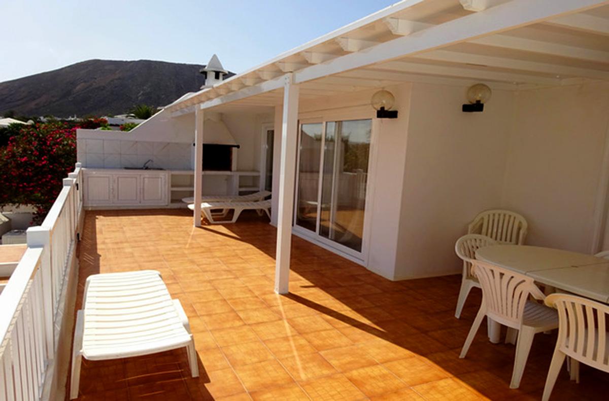 sun terrace and pergola