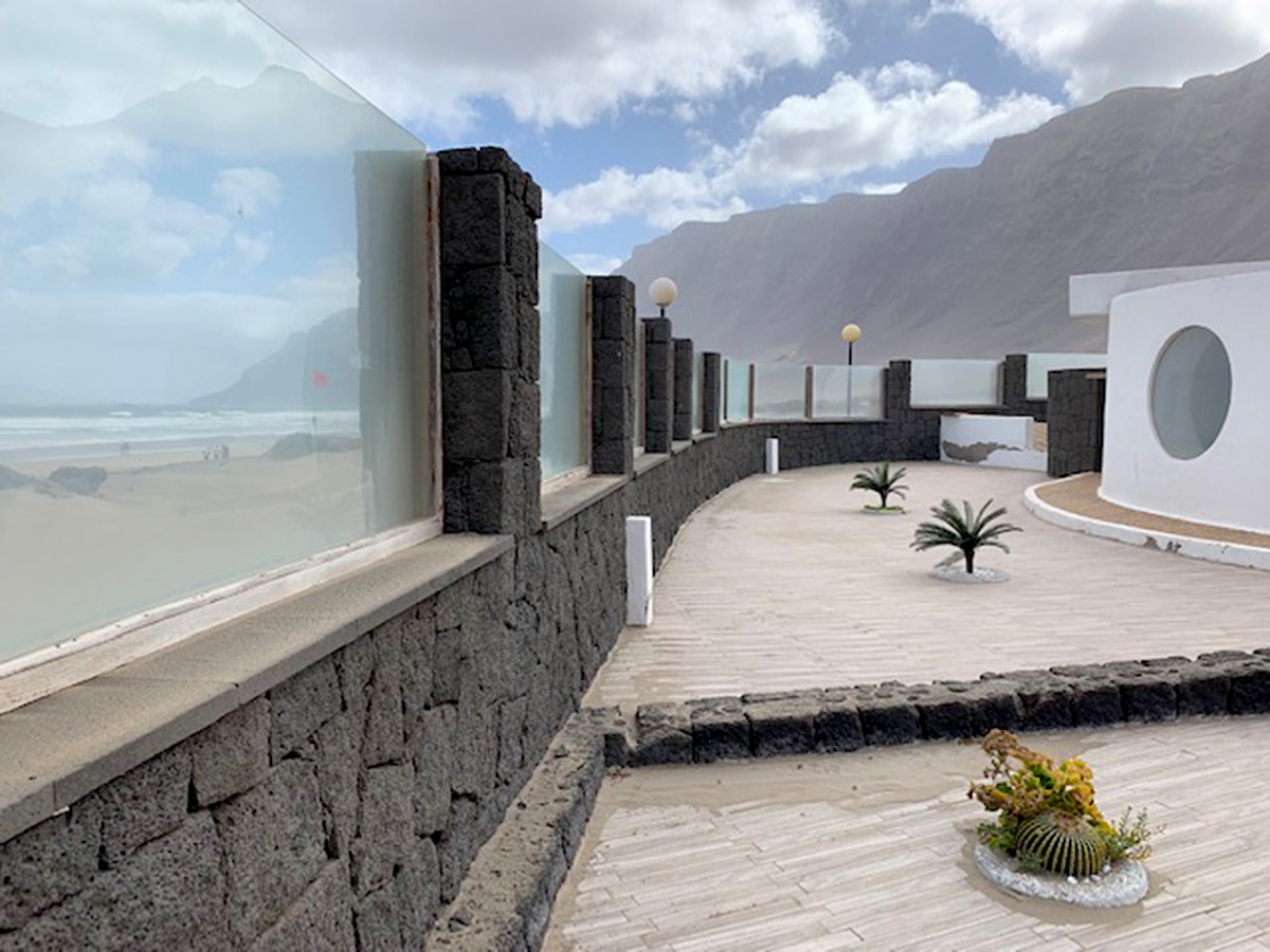 terraces and sea vierws